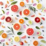 grilledprawnsfruits