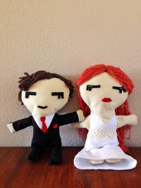 bride-groom-felt-dolly