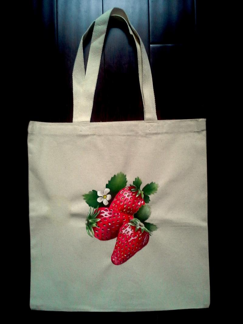 Strawberry-Tote