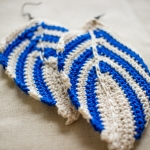 crochetleafearringchicago